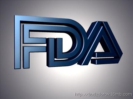 Фото. Логотип FDA