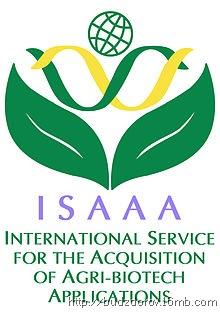 Фото. Логотип ISAAA