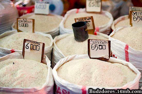 Фасованный рис, тут где-то и ГМО
