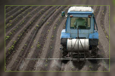 Фото. Засев поля ГМО в Венгрии