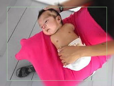 Фото. Новорожденный Карлитос Канделарио