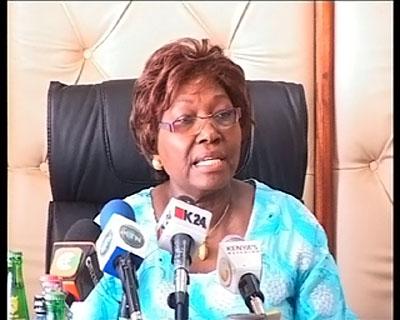 Фото. Министр здравоохранения Кении Бет Муго