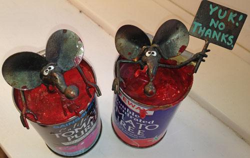 Фото. Мыши против трансгенных томатов