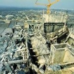 Фото. Авария в Чернобыле