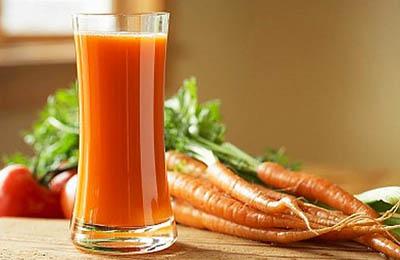 Фото. Морковный сок