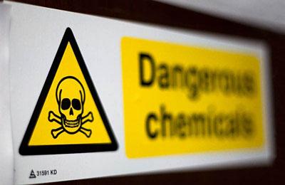 Фото. Опасно химикаты