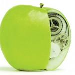 Фото. Модифицированное яблоко