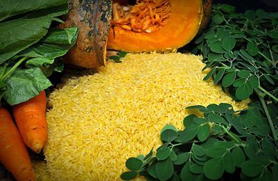 Фото. С золотым рисом
