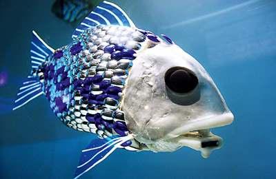 Фото. Искусственная рыба