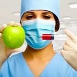При уколе получается модифицированное яблоко
