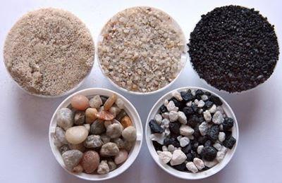 Фото. Комплект песка для фильтров