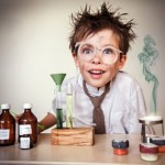Маленькая ошибка мальчика на уроке химии