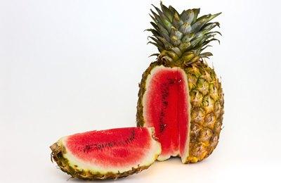 Новые модифицированные фрукты