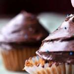 Пирожные с шоколадным кремом