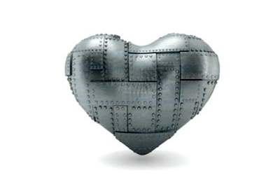 Фото. Сердце в латах