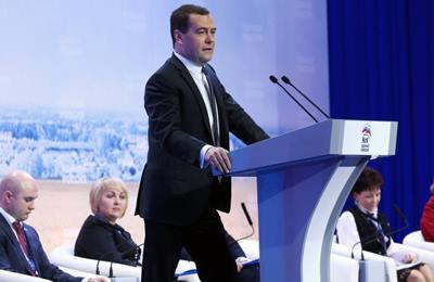 Фото. Заявление Медведева о модифицированных продуктах