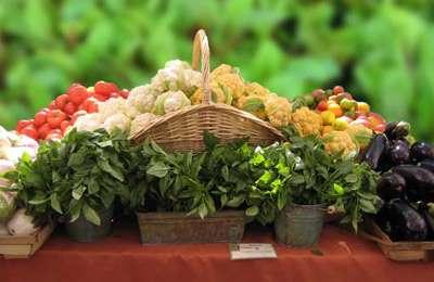Эти овощи все с одного огорода
