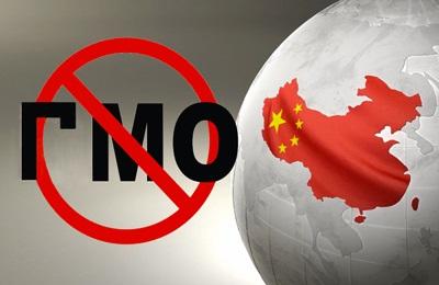 Фото. Китай запрещает ГМО