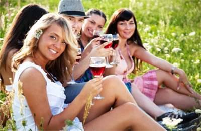 Польза вина для рта
