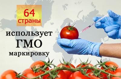 страны маркирующие ГМО