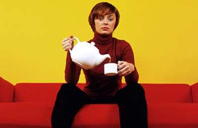 выпивание чая