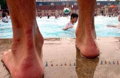 грибки на ногах
