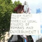 французы выступают против Монсанто
