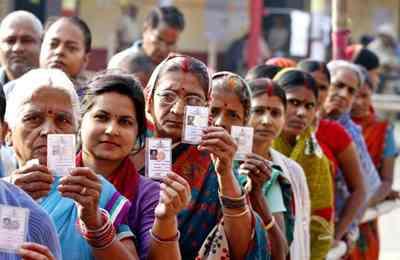 голосование в Индии