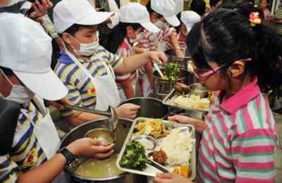 школьные обеды в Тайване