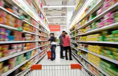 супермаркет против ГМО