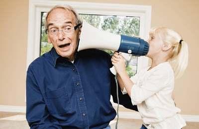 проблема со слухом