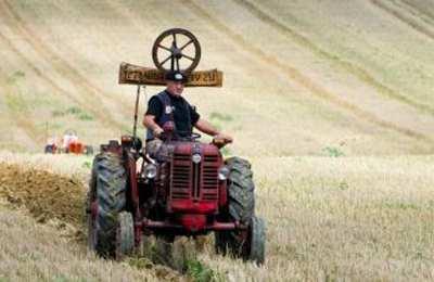 фермер на поле