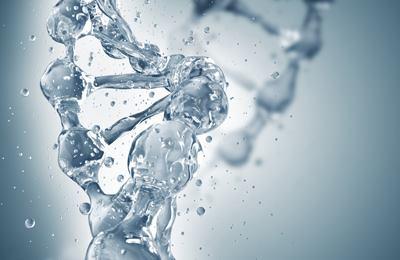 ДНК молекула воды