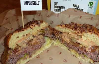 невероятный гамбургер