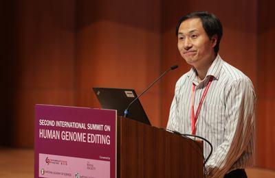 китайский ученый создавший ГМО-детей