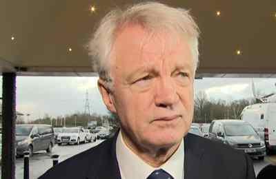 Министр по выходу Великобритании из Европейского союза Дэвид Дэвис