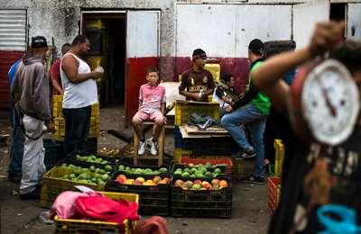 рынок в Венесуэле