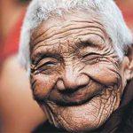 улыбка у старика