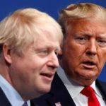 Дональд Трамп с Борисом Джонсоном