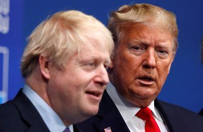 Трамп и Джонсон