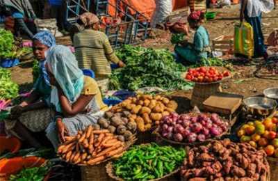 рынок в Эфиопии