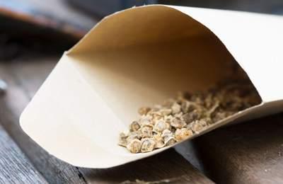 семена в упаковке