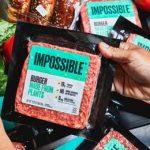 бургер с красителем ГМО