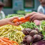 покупка овощей